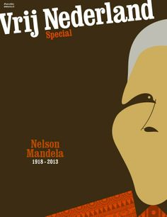 Nelson Mandela on cover