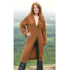Valley Yarns233 Landslide Long Coat - Download