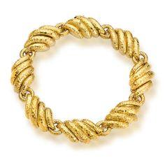 An eighteen karat gold necklace, David Webb