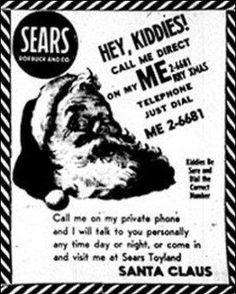 History of the NORAD Santa Tracker: How a typo began Christmas tracking at NORAD #HistoryOfTheHolidays http://billpetro.com/history-of-the-santa-tracker