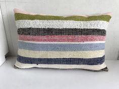Kilim hemp cushion 40x60 cm,Turkish handwoven kilim hemp pillows . by DZMRUGS on Etsy https://www.etsy.com/listing/519817462/kilim-hemp-cushion-40x60-cmturkish