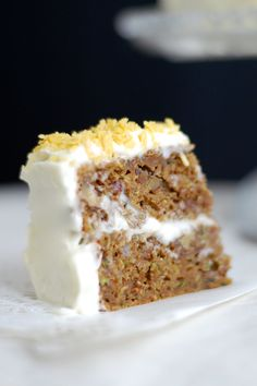 Squash-kage med cremecheesefrosting