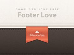 Dribbble - Free Footer Detailing by Ryan Le Roux