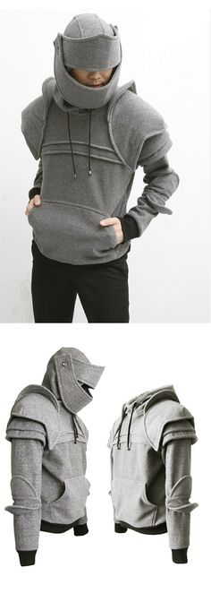 Oh my Lance needs this.. i would make him wear it too! Because he is Sir Lancelot, my Knight in a shining hoody haha