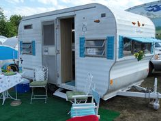 Glamping Trailers Inside | ... It's Christmas Time in February...oh and some cute vintage trailers