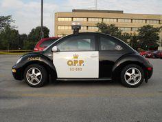 Ontario Provincial Police VW (Beetle) | Larry Thorne | Flickr