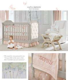 The Perfect Grey Pink Nursery That Tufted Crib Is So Adorable Twins