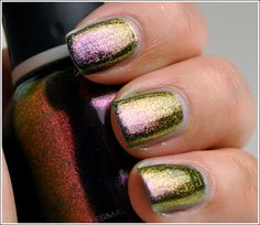 Orly - Space Cadet. Pictures don't really do this color justice - it shifts like crazy in the light