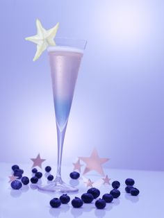 What's a more appropriate way to appreciate the night sky than with a champagne cocktail? This holiday martini will put the spark in your starry night. Ingredients: 4 oz. Pommery Pink POP Champagne 1 oz. Van Gogh Açai-Blueberry Vodka Directions: Pour...