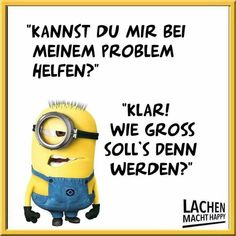 Lachen Macht Happy, Happy Minions, Pretty Words, Humor, Funny Pins, Haha, Sayings, Quotes, Smileys
