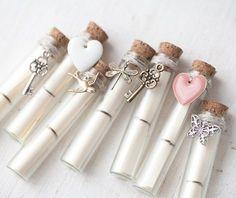 Messaggio segreto in una bottiglia - carta di matrimonio spiaggia in bottiglia…