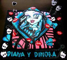 Torta Monster high. Monster high cake