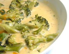 better than Panera broccoli cheddar soup.  There is no Velveeta in this recipe.