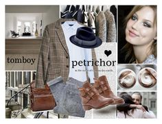 """Tomboy"" by elske88 ❤ liked on Polyvore featuring Oris, AG Adriano Goldschmied, H&M, Topshop, Marc by Marc Jacobs and tomboy"