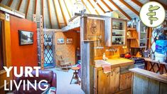 Man Shares Real Life Experience After 14 Years Living Off-Grid In A Yurt… – Eco Snippets Mini Bathtub, Yurt Living, Yoga At Home, Tiny House Plans, Off The Grid, Solar Panels, Real Life, Live, Tiny Homes