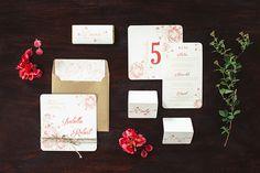Stationery Invitations Rustic Wedding