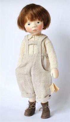 Art doll - Elisabeth Pongratz