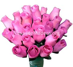 Rosa violeta Flowers, Plants, Pink Gifts, Wooden Flowers, Bouquet Wedding, Bouquets, Colors, Flora, Royal Icing Flowers