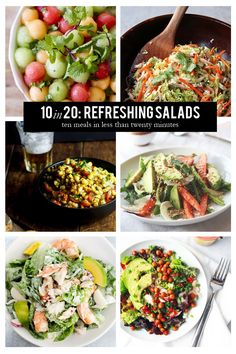 10 in 20: Refreshing Salads #theeverygirl