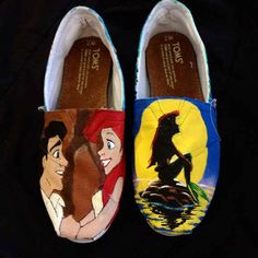 These should be a part of your world... | 25 Beautifully Hand-Painted TOMS For Every Fandom