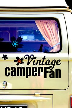 Vintage Camper Fun -  We had a VW camper in the late 1960's and drove it to Banff, Canada and back....what a trip!