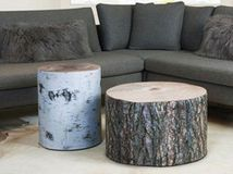 Fake a forest in your foyer — or living room or bedroom — with fox, mushroom and faux-bois accents