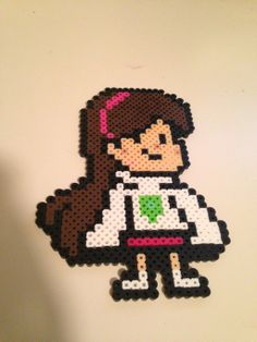 Mabel Pines Gravity Falls perler beads by pretty-in-perler on deviantART