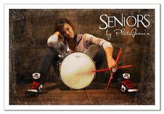 Drum senior pictures. Senior picture ideas for drummers. #drumseniorpictures #musicseniorpictureideas #seniorsbyphotojeania