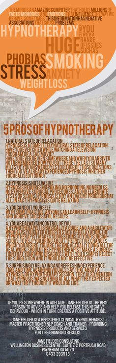 Hypnotherapy Adelaide offers hypnosis therapy sessions for depression, stress, and anxiety. Take control of your life, get help from Hypnotherapy SA today! Meditation Benefits, Daily Meditation, Autogenic Training, Learn Hypnosis, Mind Power, Cognitive Behavioral Therapy, Subconscious Mind, Phobias, Self Esteem