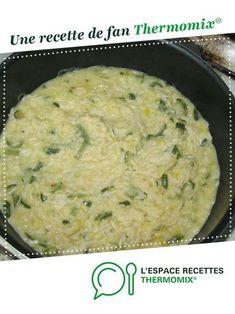 Risotto de courgettes par feufeu06. Une recette de fan à retrouver dans la catégorie Pâtes & Riz sur www.espace-recettes.fr, de Thermomix®.