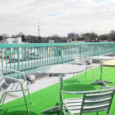 Roof top Terrace Hotel Graphy Nezu vossy.com