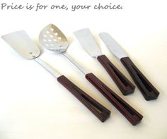Stanhome Kitchen Utensils 1940s Stainless by LaurasLastDitch, $9.99