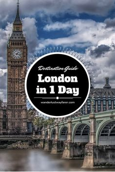 Only 1 day in London, England? See all the main attractions with this packed itinerary.: