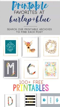 A cheap way to fill an empty wall! free murals to print printable art for the home Cheap Wall Art, Diy Wall Art, Wall Art Decor, Girl Wall Decor, Easy Diy Room Decor, Diy Nursery Decor, Decor Room, Diy Bedroom, Kids Room Wall Art
