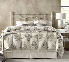 Savannah Bed & Headboard #potterybarn