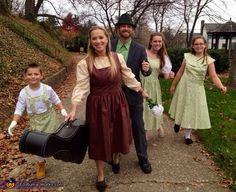 Von Trapps Family Halloween Costume Idea