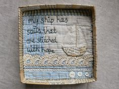 gentlework: Sail away....