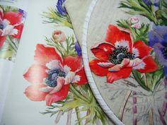 Merci Yvonne pour cette magnifique peinture à l'aiguille d'après une illustration de Wendy Tait