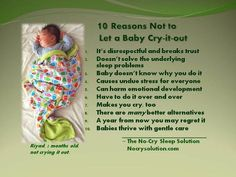 """Baby Trend: """"Heave-Ho"""" to the CIO (Cry it Out Method)"""