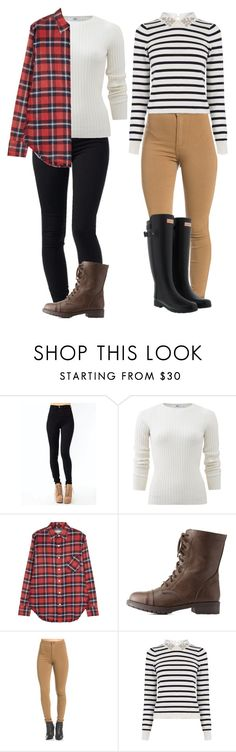 """meus looks The Walking Dead"" by mayara-loca ❤ liked on Polyvore featuring Allude, R13, Charlotte Russe, Oasis and Hunter"