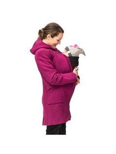 Bærejakke Mamalila - 100% uld med vindtæt foer. 2 for skellige farver.