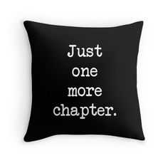 Book Quote Pillow Reading Pillow Book Lover by sevenonesixdesigns
