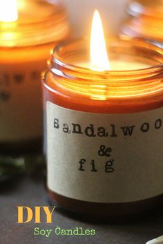 DIY Soy candles, easy DIY, fall candles, soy candles, candles, DIY, how to make soy candles, winter candles