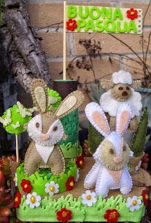 La Città di Carta: Coniglietti e agnello - Kaninchen und Hase