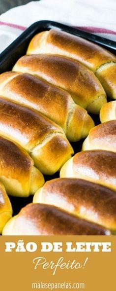 Pão de Leite | Malas e Panelas