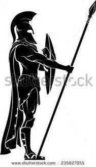 Resultado de imagen de Spartan Warrior Drawings