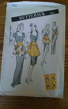 Apron Patterns, Sewing Patterns, Apron Sewing, Timeless Fashion, Cool Style, Nostalgia, My Love, Fun, Kleding