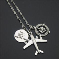 Wanderlust Necklace (4 Designs)