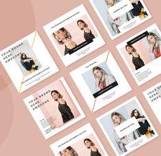SRTP - Social Media by surotype on Envato Elements Media Kit Template, Social Media Template, Instagram Design, Instagram Feed, Kit Media, Entrepreneur, Pub Design, Bruges, Posters