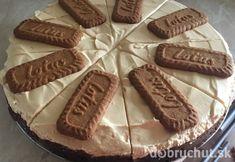Karamelový chessecake Lotus Lotus Cake, Cheesecake, Almond, Food And Drink, Cookies, Basket, Crack Crackers, Cheese Pies, Biscuits